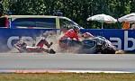 gp 2009 Brno pád