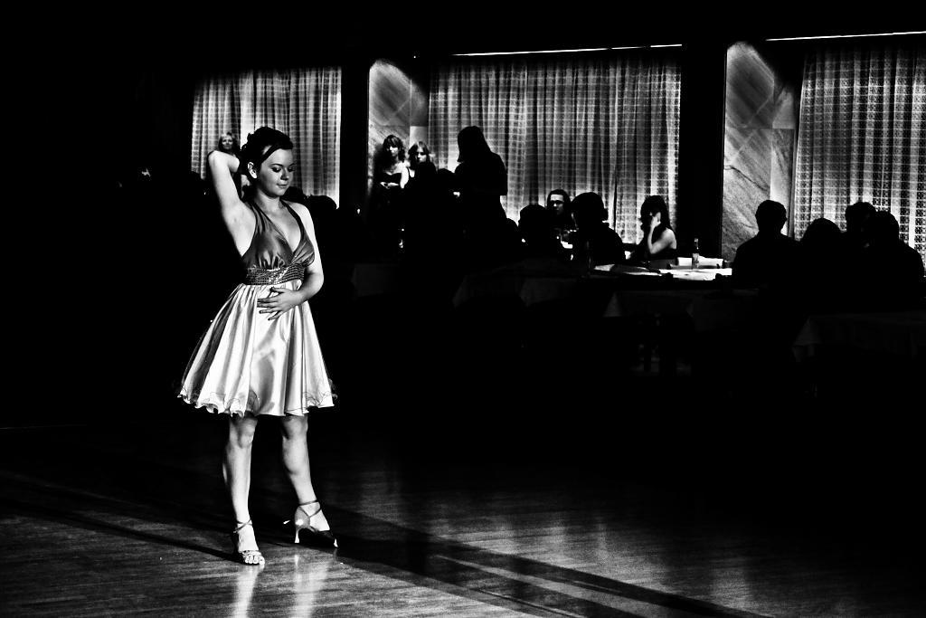 taneční vzrušení