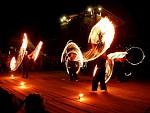 ohnivá show