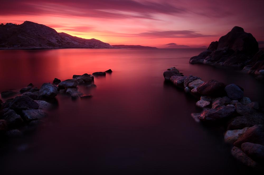 Ráno na ostrově Kos