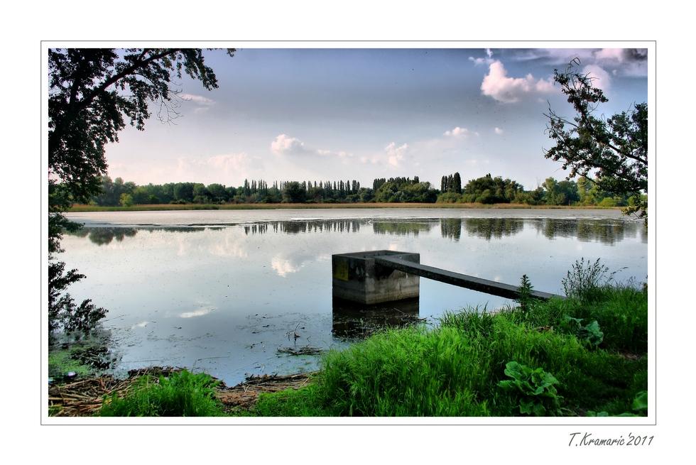 Rybník kamenný mlyn
