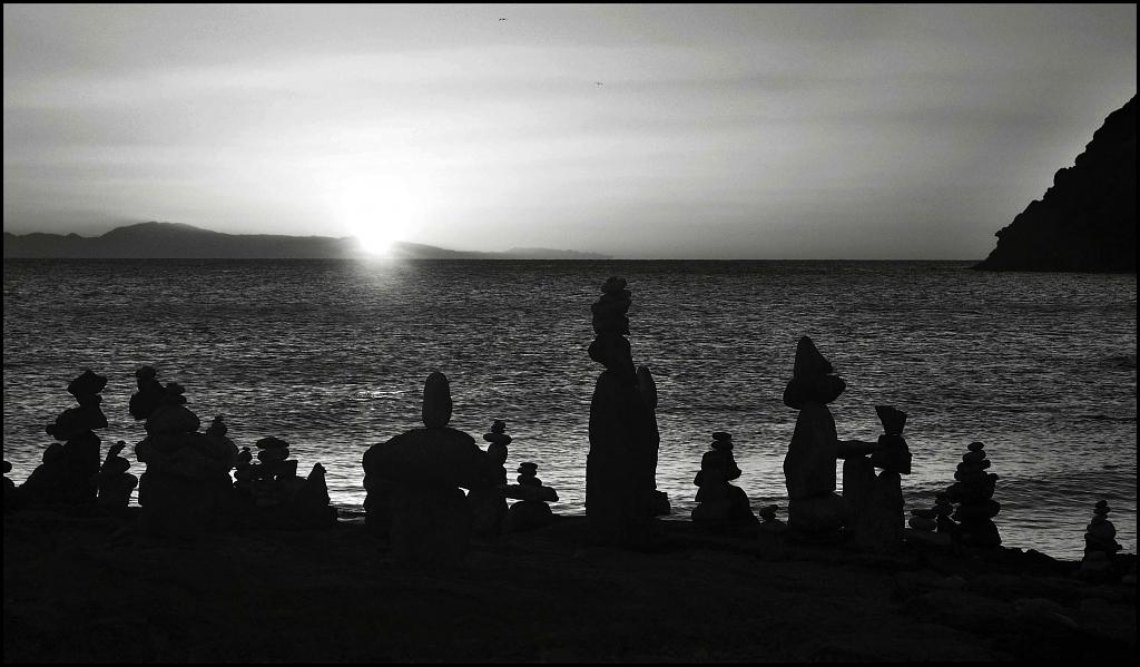 čekáme na východ slunce