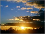 Západ Sluníčka nad Mezibořím