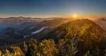 Prvý tohtoročný západ slnka