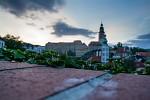 Západ slunce v Krumlově