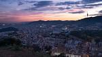 Barcelona po západu