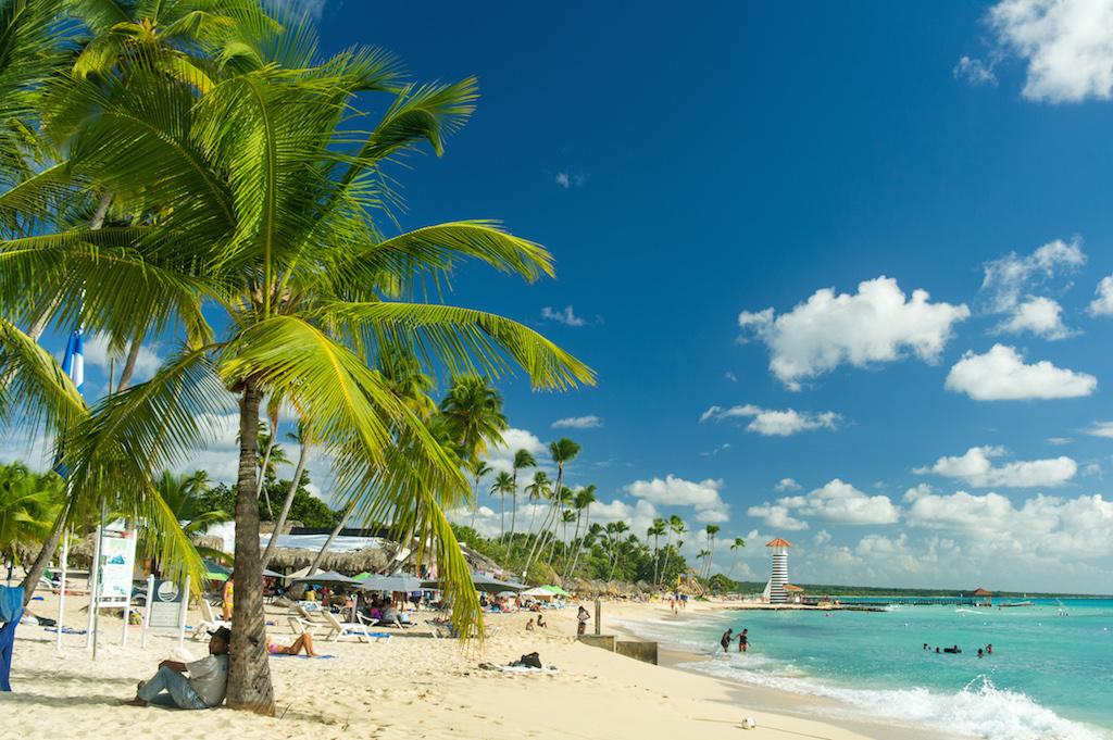 Karibská pláž