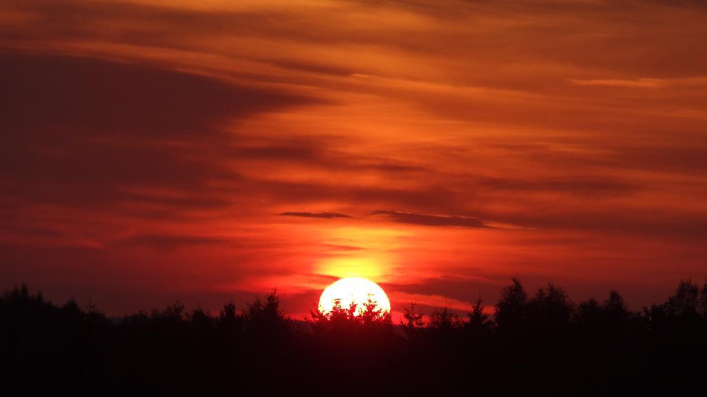 z pad slunce