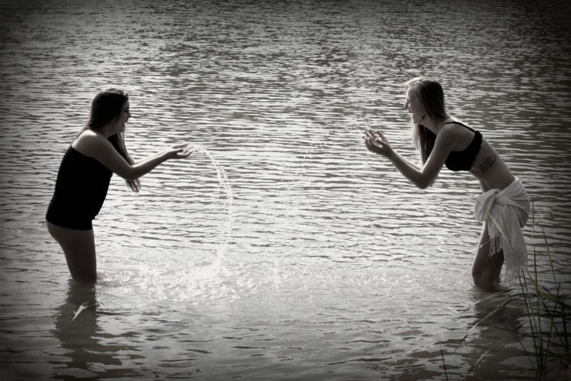 Hrátky ve vodě