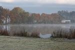 Říjnové ráno nad rybníkem