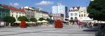 Panorama Karvinského Masarykova náměstí