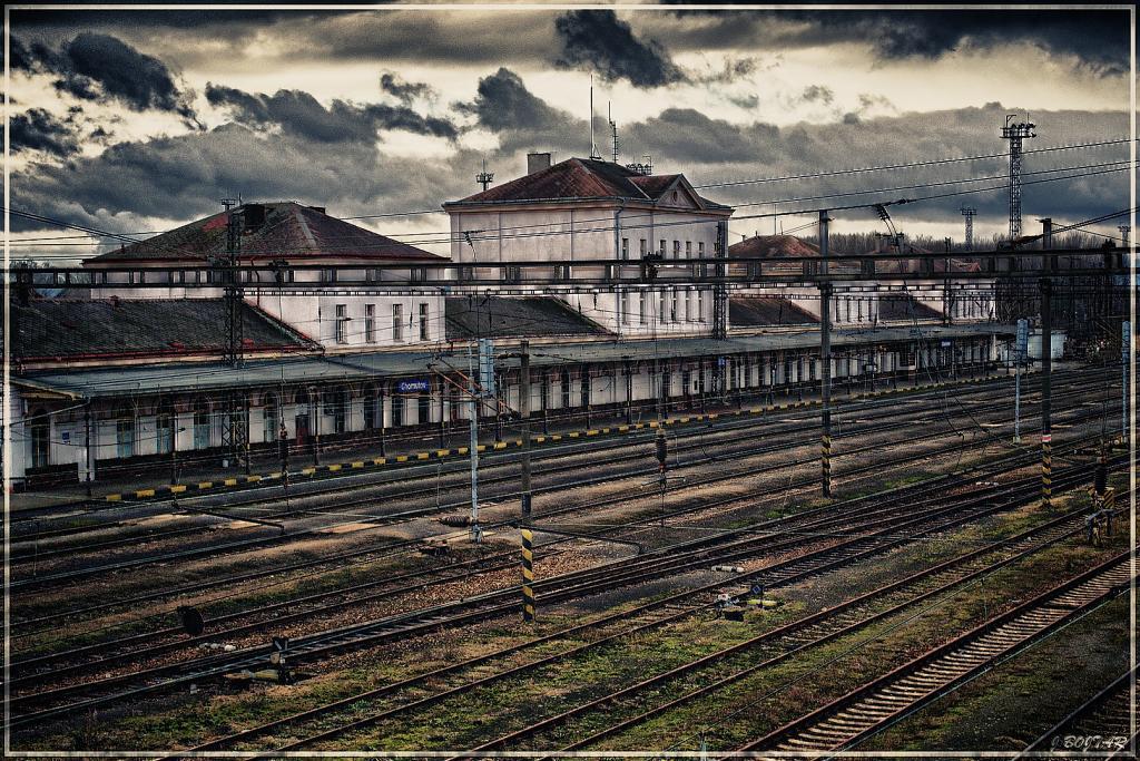 Chomutov hlavní nádraží 1.