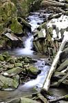 Beskydy - Vodopády říčky Satiny 1