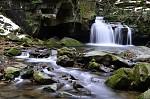 Beskydy - Vodopády říčky Satiny 2
