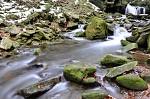 Beskydy - Vodopády říčky Satiny 3