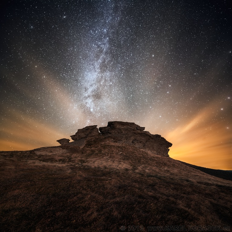 Kameny v kosmické záři