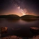 Mléčná dráha nad Písečnou -   Zobrazení: 24154