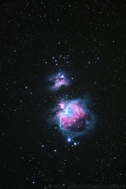 Velká mlhovina v Orionu