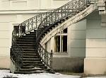 schody k zámku