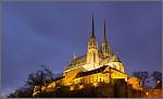Katedrála sv.Petra a Pavla večer.