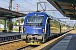 Odjezd soupravy RailJet