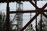 těžní věž .. důl Hamr