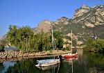 Ráno u jezera Garda