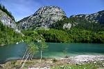 Horní jezero v Gosau