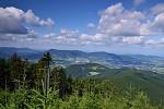 Pohled z cesty na Lysou horu