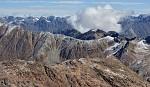 Tyrolské Alpy z kóty 3440