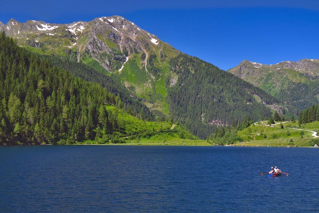 Rakousko, u jezera Dusickarsse