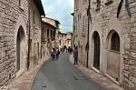 Ulička v Assisi