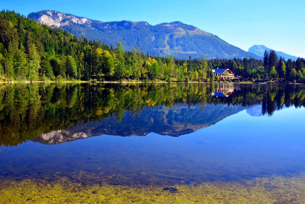 V Rakousku u jezera Odensee