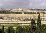 Jeruzalem z Olivové Hory
