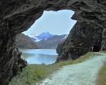 Okno na Jezero Dix