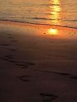 Svítání na pláži