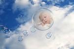 V oblacich