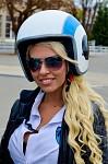 Retro motorkářka