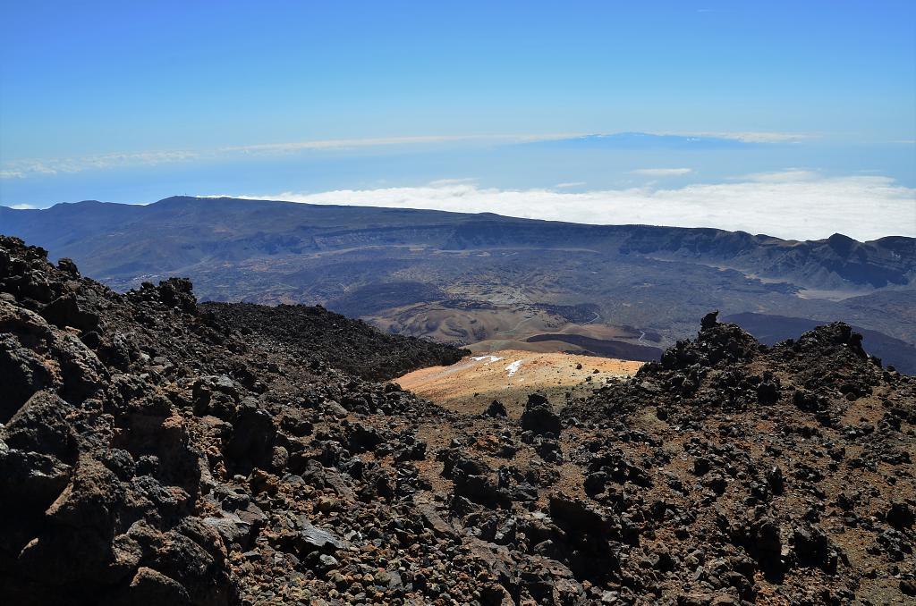 Ze sopky Teide