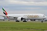 odlet Boeing 777