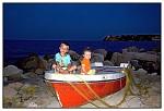Malí rybáři na suchu
