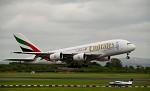 Airbus A380 odlétá zpět do Dubaje