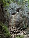 Velký vodopád téměř bez vody