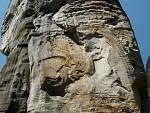 Zkamenělý obličej