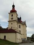 Poutní kostel v Dobré Vodě