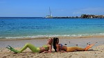 Mořské panny chytají bronz