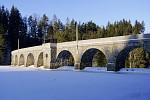 zamrzlá přehrada