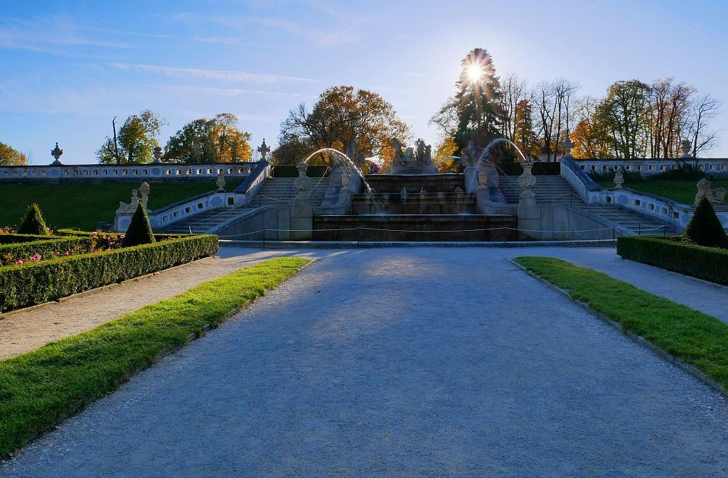Zámecký park Krumlov