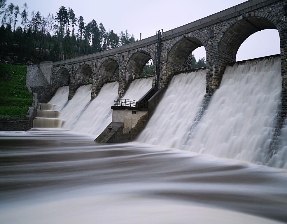 Voda přes