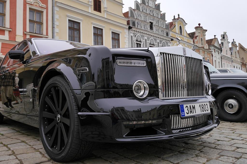 Rolls Royce v Telči